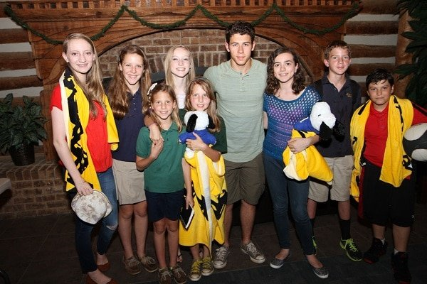 Nick Jonas JDRF Group