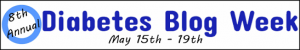 Diabetes Blog Week, 8th annual logo