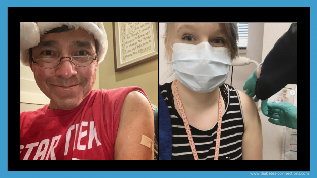 HCPs get a vaccine